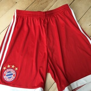 Adidas Red Soccer Shorts/New w/o tags